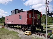Labelle駅にあったCaboose